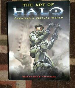 The Art of Halo by Eric Trautmann (2004) Art Book