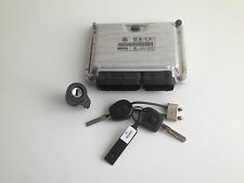 VW Seat Ibiza Skoda 1,9 TDI Motorsteuergerät 038906019DQ Schloß Funk Schlüssel