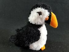 AURORA FLOPSIES COLLECTION CUTE SOFT PENGUIN PUFFIN PLUSH STUFFED ANIMAL 8""