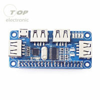 4 Port USB HUB HAT Expansion Board for Raspberry Pi 3 Model B /Zero V1,3/Zero W