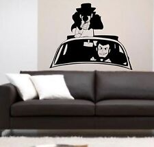 wall stickers lupin jigen margot fumetto cartone animato adesivo decori a0071