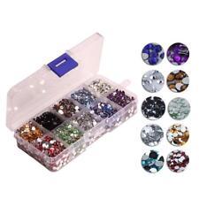 Wholesale 9000pcs Crystal Flat Back Resin Rhinestones Beads 4mm DIY Décor