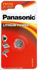 10 x Panasonic CR1216 DL 1216 Lithium Power 3V Batterie Knopfzelle Blister
