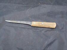 """Vtg J.A. Henckels 568-5 1/2"""" Boning Fillet Knife Solingen Germany Wood Handle"""