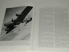 1943 magazine article on Australian based bombing missions WWII, south Pacific