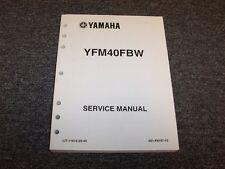 2007 Yamaha Big Bear 4WD Four 4 Wheeler ATV Quad Shop Service Repair Manual