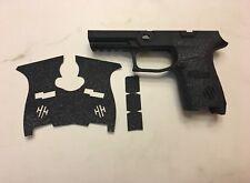 HANDLEITGRIPS Textured Rubber Gun Grip for SIG SAUER P320 9mm Medium Compact