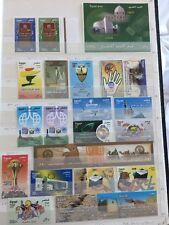Egypt MNH 2008 Full Stamp Set Firm Arts Arab Postal Day Airbus Anti Mine