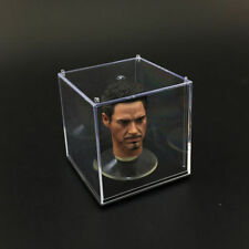 2 Sets 1:6 Scale Head Display Case Dust Cover Box For 1/6 Head Sculpt Showing