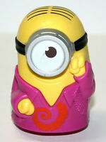 "McDonalds Toy Groovy Minion Despicable Me Cake Topper No Sound 3.5"" Tall"