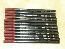 12 - SCHMIDT 888 Rollerball refill BLACK Medium .07