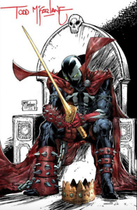 🔥 KING SPAWN #1 SIGNED Todd McFarlane 1:250 Variant Image Release 08/25/2021 🔥