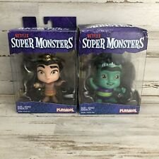 Netflix SUPER MONSTERS 4 Inch Figure Cleo Graves Frankie Mash Lot Of 2       1C