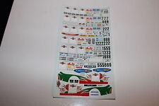 DECALS 1/43 TOYOTA MITSUBISHI SEAT RALLYE SAN REMO ITALIA 1998 WRC RALLY