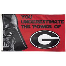 UGA Bulldogs Star Wars Large Outdoor Flag