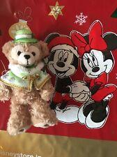 Tokyo Disney Sea Japan: Duffy Plush Chain Medium: Christmas Time (E6)