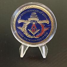 Mason Masonic Freemason Challenge Coin Fraternal Order of Freemasons
