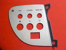 Ferrari Dino 308 Dashboard Panel Trim GT/4 Hazard_Seat Belt Switch Plate OEM