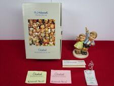 "Hummel Goebel ""Auf Wiedersehen"" Figurine.153 /0.5-1/4"".Original Box & Coa."