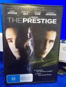THE PRESTIGE - DVD - Film - Hugh Jackman - Christian Bale - VGC Used