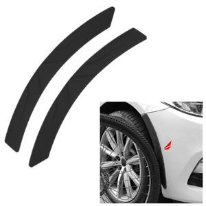 1.5in Wide Car Wheel Eyebrow Arch Fender Flares Lip Guard Protector Strip Trim