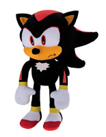 "12"" Official Sonic Hedgehog Shadow Plush Figure Stuffed Boys Kids Gift Toy Doll"