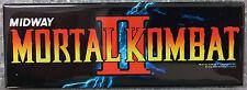 Mortal Kombat II Arcade Game Marquee Fridge Magnet