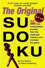 Sudoku 'The Original' Book 2 Soft Cover Book by Nikoli / Workman Publishing