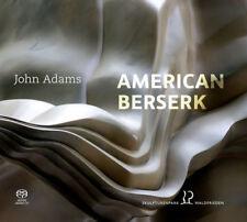 John Adams : John Adams: American Berserk CD (2018) ***NEW***