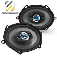 """Scosche HD57684 5x7""""/6x8"""" 200 W altoparlanti auto Scaffale audio per auto Ford & Mazda"""