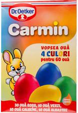 5 x Colorante uova di pasqua 4 colori  Dr. Oetker vopsea oua Magia Culorilor