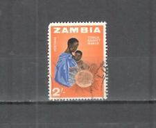 S9303 - ZAMBIA 1964 - MAZZETTA DI 15 ARTIGIANATO - VEDI FOTO