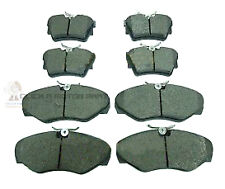 RENAULT TRAFIC 1.9 2.0 2.5 DCI 01-13 FRONT & REAR BRAKE PADS QUALITY WITH SHIMS