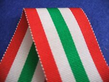 World War II Italy Star Medal Ribbon Full Size 16cm long