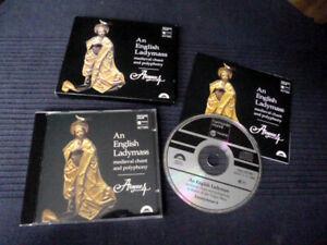 CD Anonymous 4 - An English Ladymass Medieval Chant & Polyphony Harmonia Mundi