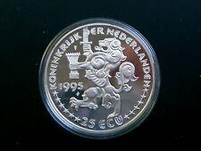 Niederlande Silbermünze  25 ECU 1995  PP in Kapsel