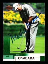 MARK O'MEARA HOF Signed 2002 Upper Deck Card #6 PSA/DNA Guaranty - Nice Auto!
