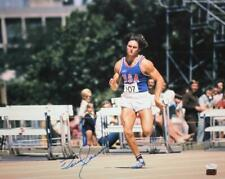 Bruce Jenner Autographed 16x20 Front View Running Photo- JSA Authenticated