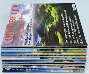 Job Lot of Country Life Magazine x 10 Issues May June July 2007
