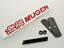 Honda Mugen Grill Emblem Red Sticker 3D logo badge Trunk RR Grill Letter JDM NEW