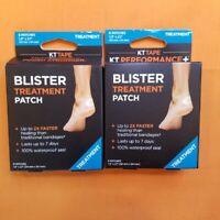 """2 - KT Tape Precut 3.5""""  Blister Prevention Tape - 60 Strips Total - Black HG28"""