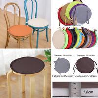 US Indoor & Outdoor Round Garden Chair Bistro Stool Patio Dining Home Seat Pads