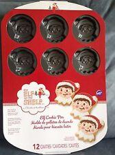 Wilton Elf on The Shelf Cookie Pan 12 Cavities for Christmas Cookies