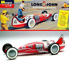 Monogram 1/25 Long John Streamlined Dragster 544 Plastic Model Kit
