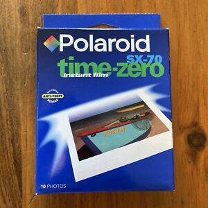 POLAROID SX-70 Time Zero 10 Pack of SEALED FILM for Instant Cameras EXP 12/2000