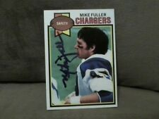 1979 TOPPS MIKE FULLER  AUTOGRAPHED#254 FOOTBALL CARD