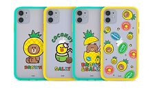 LINE FRIENDS Pineapple Brown Smog Point Soft Phone Case For Apple iPhone 11