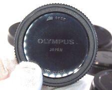 Olympus LR-1 Rear Lens Cap genuine made in Japan Evolt 4/3 or OM sold separately
