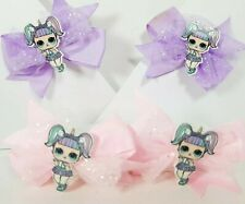 4 LOL Dolls Bow Hair Accessories 💕 BUY ONLINE & SEND FOR EASTER ☆ BIRTHDAY GIFT