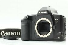 【EXC+++++】 CANON EOS 3 35mm SLR FILM CAMERA BODY w/ BP-E1 and Strap From Japan